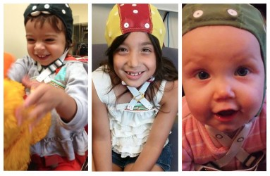 babies with cap